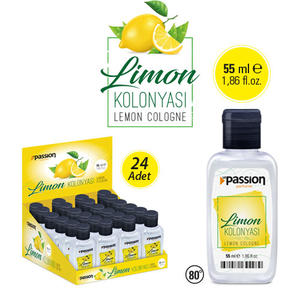 Le Passion - Limon Kolonyası 55ml x 24 Adet