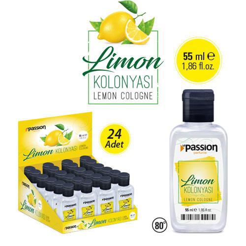 Limon Kolonyası 55ml x 24 Adet